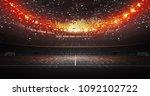 stadium imaginary 3d rendering | Shutterstock . vector #1092102722