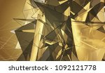 bright gold illustration with... | Shutterstock . vector #1092121778