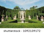 sculpture in the garden. | Shutterstock . vector #1092139172