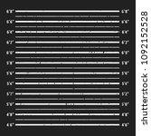 police mugshot board template.... | Shutterstock .eps vector #1092152528