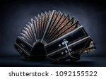 close up of an bandoneon | Shutterstock . vector #1092155522