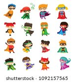 cartoon vector illustration of... | Shutterstock .eps vector #1092157565