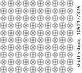 seamless abstract black texture ... | Shutterstock . vector #1092177326
