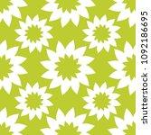 seamless floral pattern.... | Shutterstock . vector #1092186695