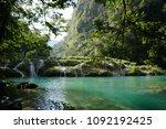 semuc champey  guatemala | Shutterstock . vector #1092192425