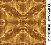 seamless halftone brown...   Shutterstock .eps vector #1092202565