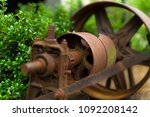 Small photo of Old rusty milling machinery