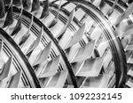 Steel Blades Of Turbine...
