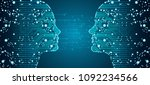 big data  artificial...   Shutterstock .eps vector #1092234566