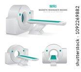 magnetic resonance imaging... | Shutterstock .eps vector #1092269882