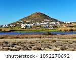rural landscape on naxos island ... | Shutterstock . vector #1092270692