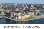 an amazing view of stockholm... | Shutterstock . vector #1092273902