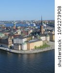 an amazing view of stockholm... | Shutterstock . vector #1092273908