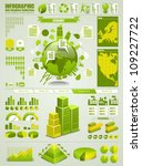 ecology info graphics collection | Shutterstock .eps vector #109227722