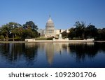 washington dc  usa  1995 the us ... | Shutterstock . vector #1092301706