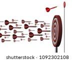 niche market concept as... | Shutterstock . vector #1092302108