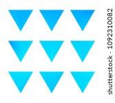 vector gradient reverse... | Shutterstock .eps vector #1092310082