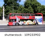 madrid  spain   july 2  tourist ... | Shutterstock . vector #109233902