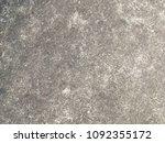old dirty dark cement floor... | Shutterstock . vector #1092355172
