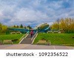 belarus  minsk   may 01  2018 ... | Shutterstock . vector #1092356522