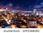 clouds break over san francisco ... | Shutterstock . vector #1092368282