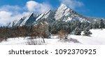 Boulder Colorado Flatirons...