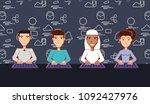 social media design | Shutterstock .eps vector #1092427976