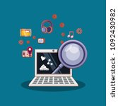 social media design | Shutterstock .eps vector #1092430982
