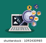 social media design | Shutterstock .eps vector #1092430985