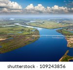 Aerial View Of The River And...