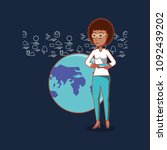 social media design | Shutterstock .eps vector #1092439202