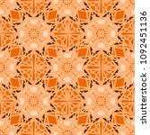 abstract color seamless pattern ... | Shutterstock . vector #1092451136