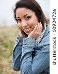 a portrait of a beautiful... | Shutterstock . vector #10924726