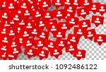 social media marketing.... | Shutterstock .eps vector #1092486122