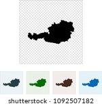 map of austria | Shutterstock .eps vector #1092507182