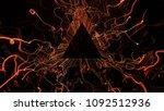 3d render abstract background.... | Shutterstock . vector #1092512936
