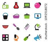 solid vector ixon set   bucket... | Shutterstock .eps vector #1092518072