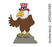 bald eagle american symbol | Shutterstock .eps vector #1092641585