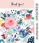 creative universal artistic... | Shutterstock .eps vector #1092678518