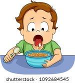 illustration of a kid boy...   Shutterstock .eps vector #1092684545