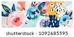 creative universal artistic... | Shutterstock .eps vector #1092685595