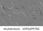illusion of stripes  background ... | Shutterstock .eps vector #1092699782
