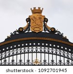 detail of the beautiful fence...   Shutterstock . vector #1092701945