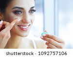 health and beauty. beautiful... | Shutterstock . vector #1092757106