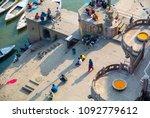 varanasi india  ganges jan 22 ...   Shutterstock . vector #1092779612