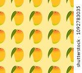 vector illustration of seamless ... | Shutterstock .eps vector #1092783035