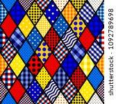seamless vector pattern....   Shutterstock .eps vector #1092789698