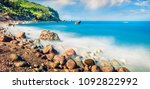 panoramic spring view of avali... | Shutterstock . vector #1092822992