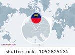 world map centered on america... | Shutterstock .eps vector #1092829535