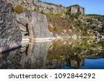 laguna negra  glacial lake in... | Shutterstock . vector #1092844292